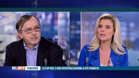 RTL INFO 19H : Coronavirus: Yves Van Laethem commente l'évolution des chiffres