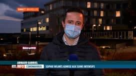 RTL INFO 19H : Coronavirus: l'état de santé de Sophie Wilmès est rassurant