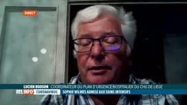 RTL INFO 19H : Cotonavirus: éclairage de Lucien Bodson, médecin urgentiste à Liège