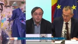 RTL INFO 19H : Coronavirus: Bruxelles et la Wallonie, régions les plus touchées en...