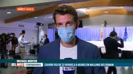 RTL INFO 19H : Coronavirus: le point sur les mesures fortes prises en Wallonie et ...
