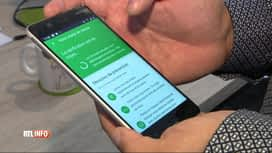 RTL INFO 19H : Coronavirus: 20% des utilisateurs de smartphone ont l'appli Coronalert