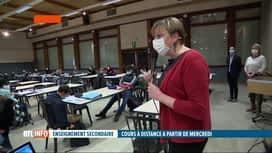 RTL INFO 19H : Coronavirus: les écoles s'organisent au plus vite pour les cours en...