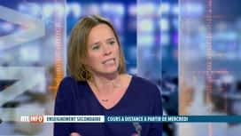 RTL INFO 19H : Coronavirus: Caroline Désir revient sur les cours en ligne en secon...