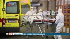 RTL INFO 19H : Coronavirus: des blocs opératoires deviennent des chambres Covid à ...