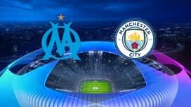 Champions League : 27/10 : Marseille - Manchester City
