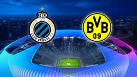 Champions League : 04/11: FC Bruges - Dortmund