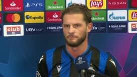 Champions League : 04/11: Mats Rits (FC Bruges)