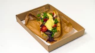 5 SÉF – EGY HÉT, EGY HŰTŐ : Hétfő: Májas street food szendvics