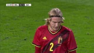 Belgique 0 - 1 Suisse