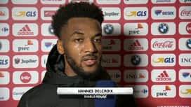 Nations League : 11/11 : Hannes Delcroix (Belgique)