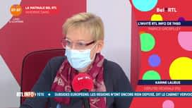 La matinale Bel RTL : Karine Lalieux (16/11)