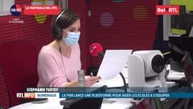 RTL INFO sur Bel RTL : RTL info 8h du 16/11