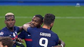 La France égalise grâce à Giroud !