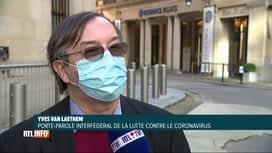 RTL INFO 19H : Coronavirus: les règles de quarantaine vont évoluer lundi prochain