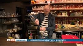 RTL INFO 19H : Coronavirus: fermés depuis un mois, les cafetiers doivent se réinve...