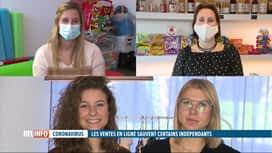 RTL INFO 19H : Coronavirus: certains indépendants ont pas mal de succès grâce à la...