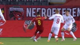 Nations League : 18/11: Belgique - Danemark : 1ère mi-temps