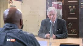 RTL INFO 13H : Coronavirus: le roi Philippe s'est rendu à la prison de Huy