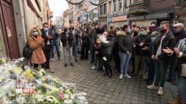 RTL INFO 13H : Coronarivus: hommage envers la jeune Alysson, ce matin à Liège
