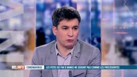 RTL INFO 19H : Coronavirus: l'avis de Simon Dellicour sur des fêtes en mode mineur