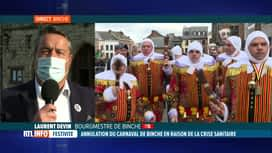 RTL INFO 13H : Coronavirus: le carnaval de Binche 2021 est annulé
