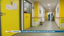 RTL INFO 19H : Coronavirus: explosion de cas de Covid-19 dans un home incendié de...