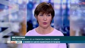 RTL INFO 13H : Coronavirus: la diminution des diagnostics de cancer est inquiétante