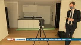 RTL INFO 19H : Coronavirus: les visites immobilières sont finalement autorisées