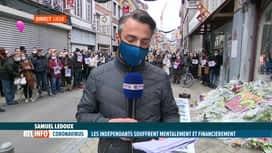 RTL INFO 13H : Coronavirus: rassemblement en mémoire d'Alysson Jadin à Liège