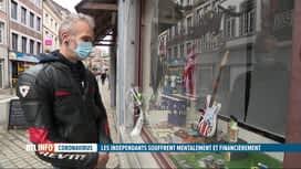 RTL INFO 13H : Coronavirus: les indépendants souffrent, tant financièrement que me...