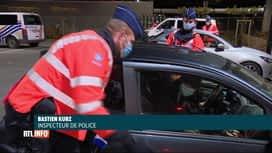 RTL INFO 13H : Vaste opération de contrôle policier ce samedi en province de Luxem...
