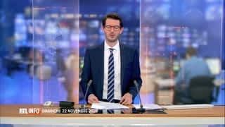 RTL INFO 13H : RTL INFO 13 heures (22/11/20)