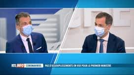 RTL INFO 19H : Coronavirus: les fêtes de fin d'années devront se dérouler en petit...