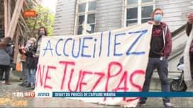 RTL INFO 13H : Affaire Mawda: des actions pour dénoncer le sort des réfugiés en Be...