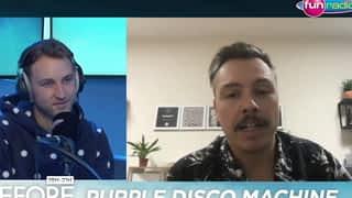 Purple Disco Machine en interview et en mix dans Le Before