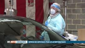 RTL INFO 19H : Coronavirus: les asymptomatiques peuvent à nouveau se faire tester