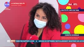 La matinale Bel RTL : Christie Morreale (24/11)
