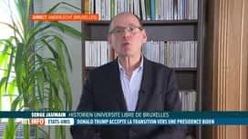 RTL INFO 13H : Etats-Unis: Trump accepte la transition vers une présidence Biden