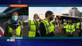 RTL INFO 13H : Coronavirus: Alexander De Croo en visite à Brussels Airport