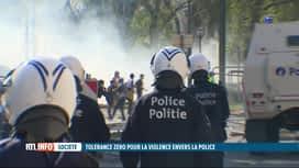 RTL INFO 19H : La circulaire de tolérance zéro pour la violence envers la police e...