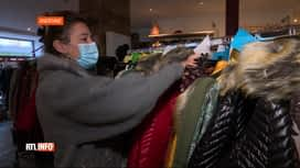 RTL INFO 19H : Coronavirus: les commerces non-essentiels impatients de pouvoir...