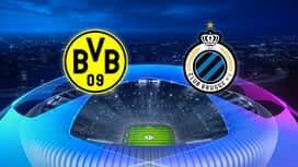 Champions League : 24/11 : Dortmund - FC Bruges (Les buts)