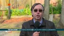 RTL INFO 13H : Coronavirus: l'avis d'Yves Van Laethem à propos du déconfinement