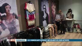 RTL INFO 19H : Covid-19: les commerces non-essentiels espèrent rouvrir sous peu