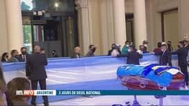 RTL INFO 13H : Décès de Diego Maradona: l'Argentine pleure son héros national