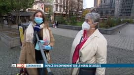 RTL INFO 13H : Coronavirus: ce second confinement semble plus difficile à vivre