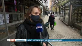 RTL INFO 19H : Coronavirus: le moral des Belges n'est pas vraiment au beau fixe