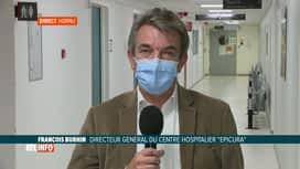 RTL INFO 19H : Coronavirus: l'avis des soignants sur le prochain comité de concert...
