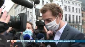 RTL INFO 13H : Coronavirus: un comité de concertation très attendu va débuter